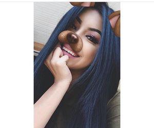 girl and snapchat image