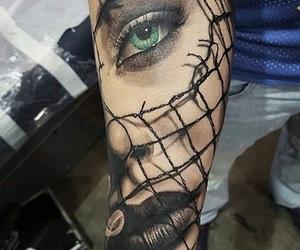 eye, green, and stunning image