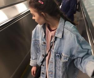 girl, jacket, and mall image