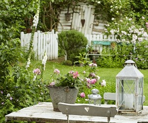 cottage, country, and garden image