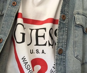 fashion, guess, and clothes image