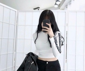 girl, kfashion, and ulzzang image