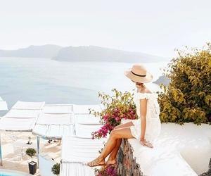 Greece, santorini, and scene image