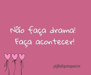 coracao, drama, and frase image