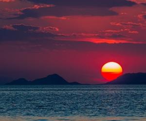 beautiful and sea image
