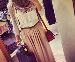 hijab, skirt, and outfit image