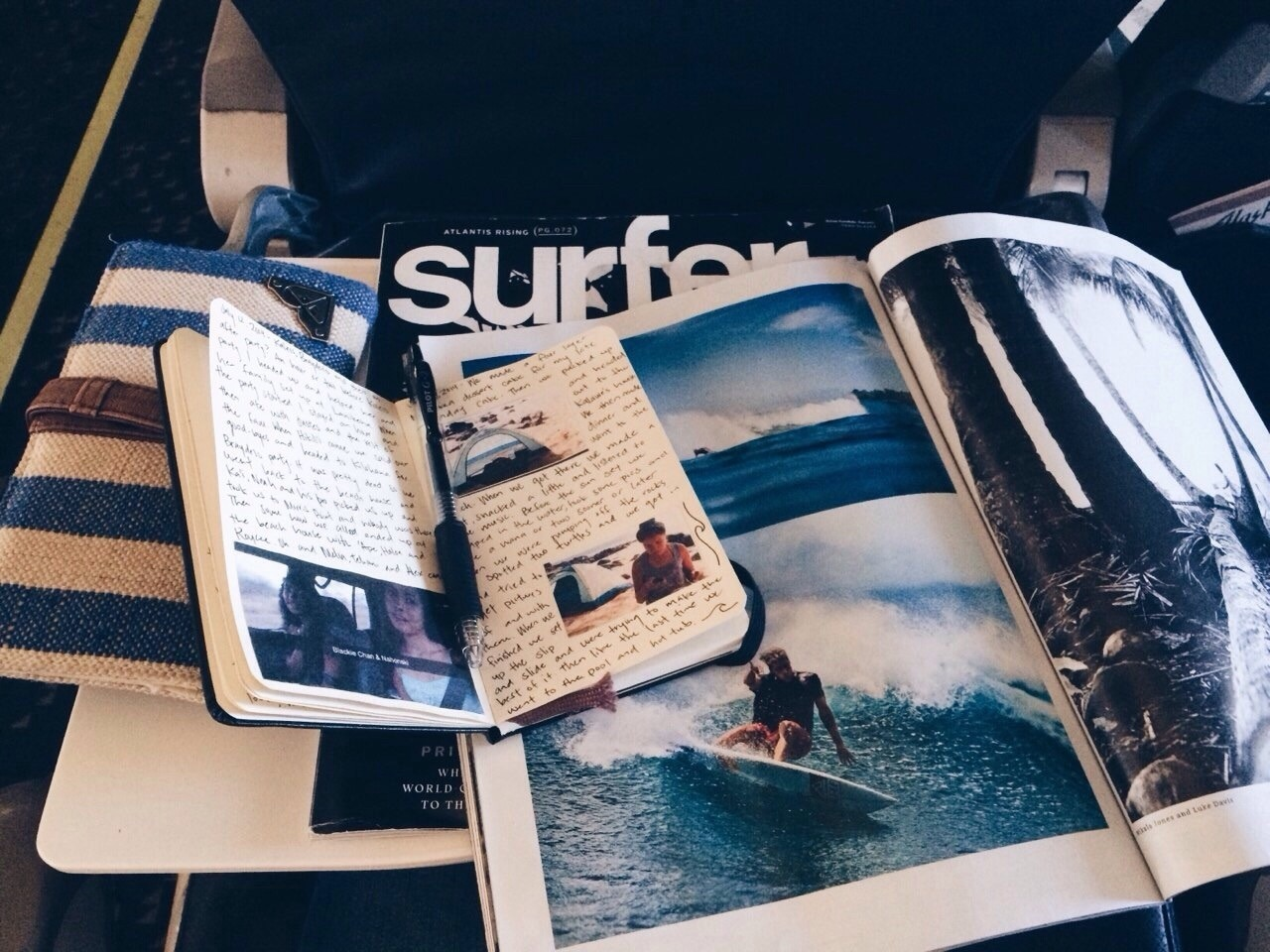 art, beach, and journal image