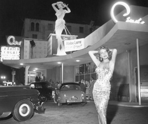 1950, black and white, and city image