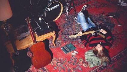 grunge, kurt cobain, and music image