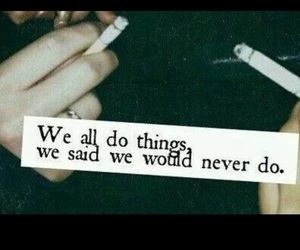 smoke, cigarette, and quotes image