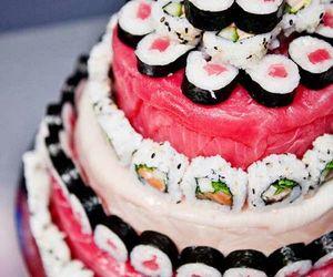 donuts, food, and sushi image