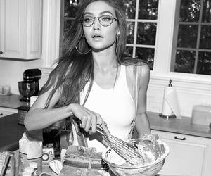 gigi hadid, model, and glasses image