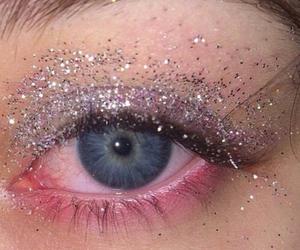 glitter, eyes, and grunge image