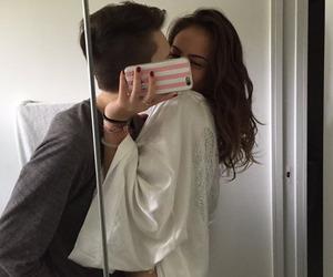 couple, kiss, and tumblr image