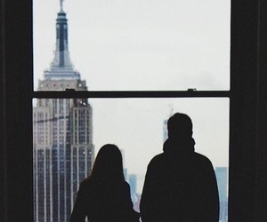 couple, new york, and nyc image