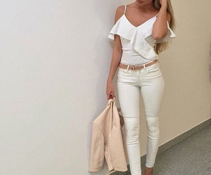 blonde, inspiration, and outfit image