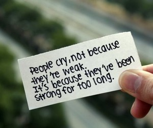 cry, inspiring, and Paper image