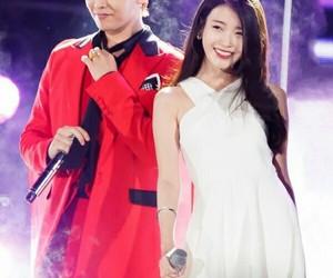 g-dragon, iu, and kpop image