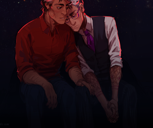 my art, welcome to night vale, and wtnv image