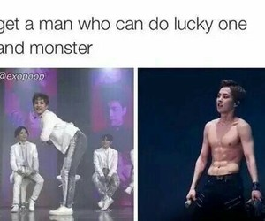 exo, meme, and funny image