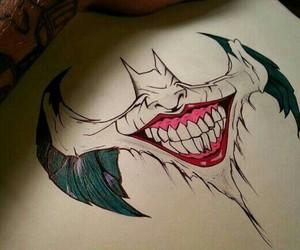 art, batman, and joker image