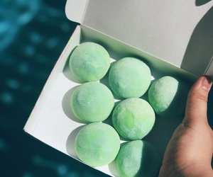 Aloha, green tea, and mochi image