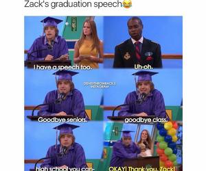 funny, graduation, and sweet life image