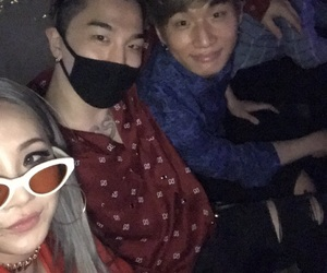 taeyang, CL, and daesung image