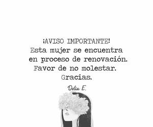 desamor, frases en español, and dolor image