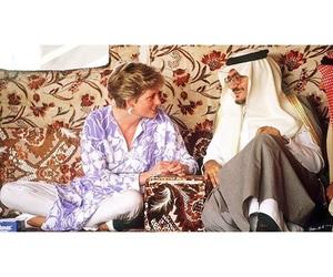 old, princess diana, and saudi arabia image
