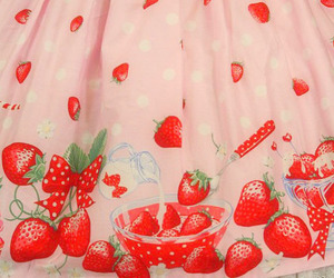strawberry and pink image