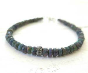 bracelet, jewelry, and opal image