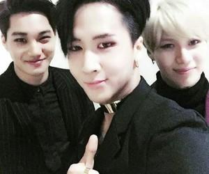 exo, kai, and Taemin image