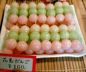 food, japanese, and dango image