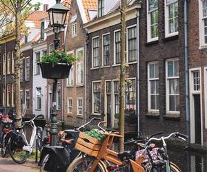 adventure, amsterdam, and travel image