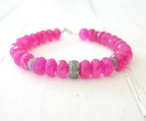 gift, jewelry, and hot pink image