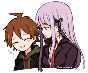 game, kirigiri kyouko, and danganronpa image
