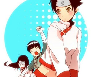 anime, naruto, and rock lee image