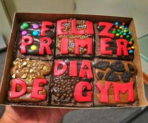 chocolate, gym, and pretty image
