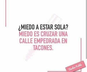 quote, soledad, and español image