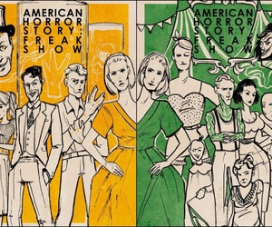 american horror story and freak show image