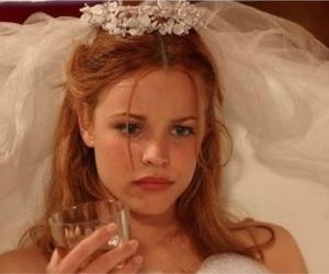 bride, ginger, and grunge image