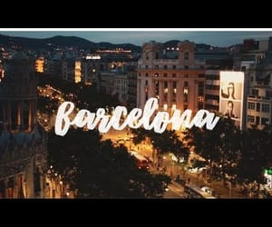 Barcelona, europe, and traveling image