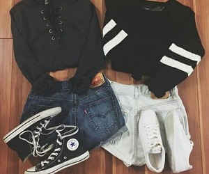 outfit, fashion, and clothing image
