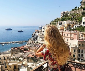 Amalfi, girl, and model image
