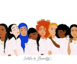 sisters, peace, and sanaa-k image