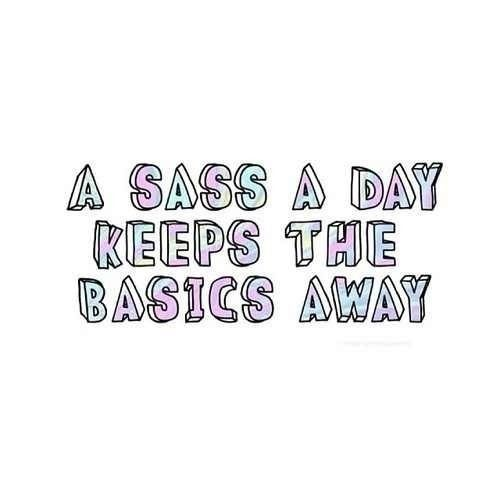 Sassy Quotes For Instagram. QuotesGram on We Heart It