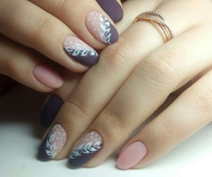 nail polish, nail design, and nails image