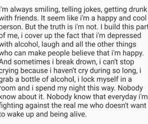 depressed, myself, and people image