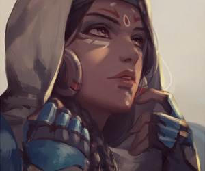 pharah, overwatch, and fan art image